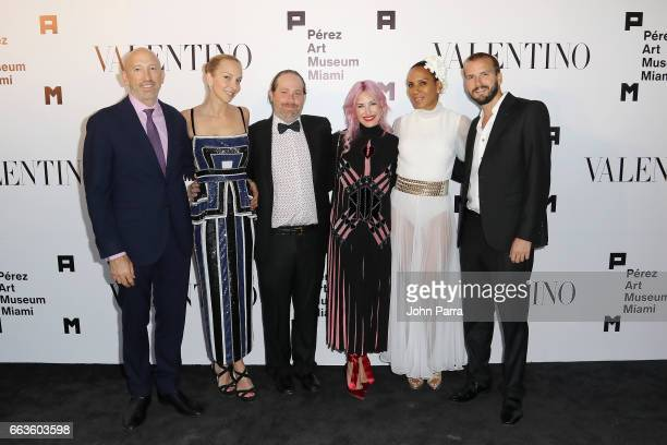 Juan Pablo Cappello Christina Getty Adam Wolman Alexa Wolman Barbara Becker and Juan Lopez Salaberry at PAMM Art Of The Party Presented By Valentino...