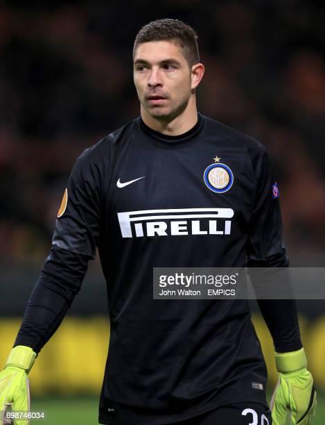 Juan Pablo Carrizo Inter Milan goalkeeper
