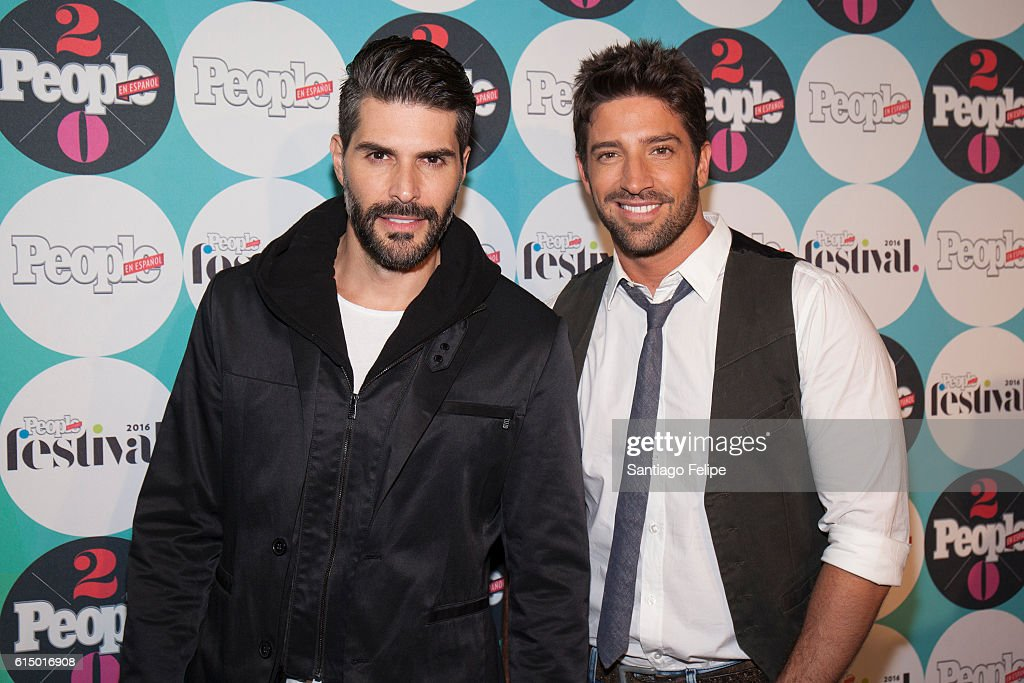 Juan Pablo Llano; and David Chocarro attend the 5th Annual Festival People en Espanol at The Jacob K. Javits Convention Center on October 15, 2016 in New York City.