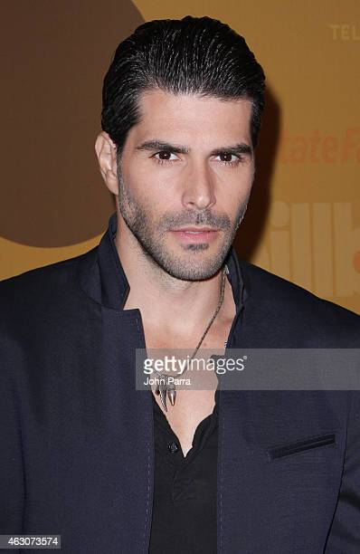 Juan Pablo Llano attends Billboard Latin 2015 Finalists Nominations Press Conference on February 9 2015 in Doral Florida