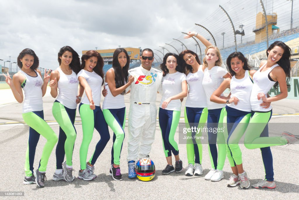 Univision's Nuestra Belleza Latina Challenge With NASCAR