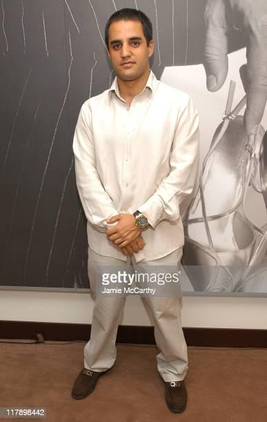 Juan Pablo Montoya during The Audemars Piguet Limited Edition Juan Pablo Montoya Royal Oak Offshore US Launch at Audemars Piguet Boutique in New York...