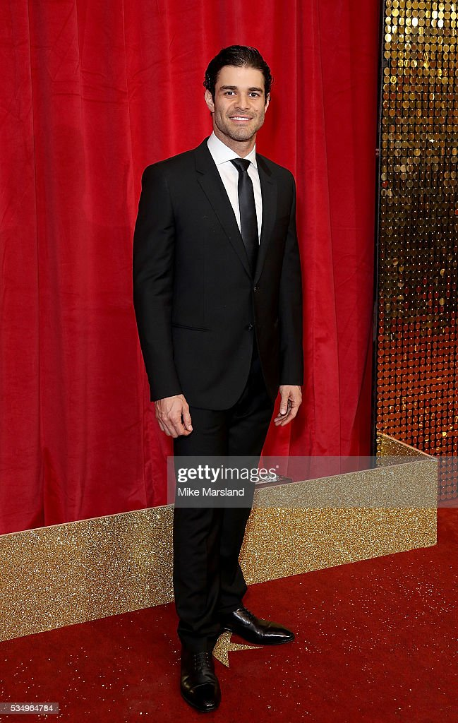 Juan Pablo Yepez attends the British Soap Awards 2016 at Hackney Empire on May 28, 2016 in London, England.