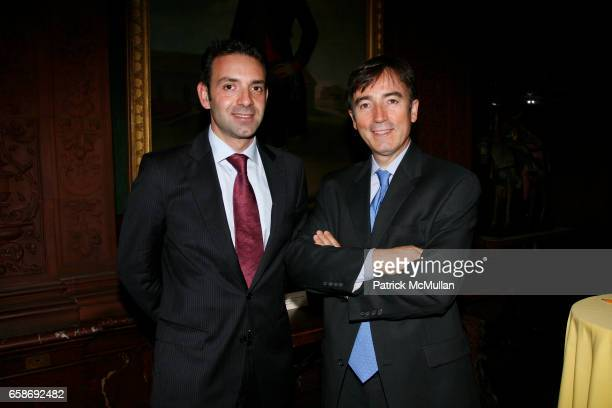 Juan Paredes and Jose Ramon Villar attend An Adventure in Connoisseurship at The Hispanic Society of America on June 4 2009 in New York City