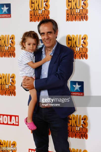 Juan Pedro Valentin attends the 'Despicable Me 3' premiere at Kinepolis cinema on June 22 2017 in Madrid SPAIN