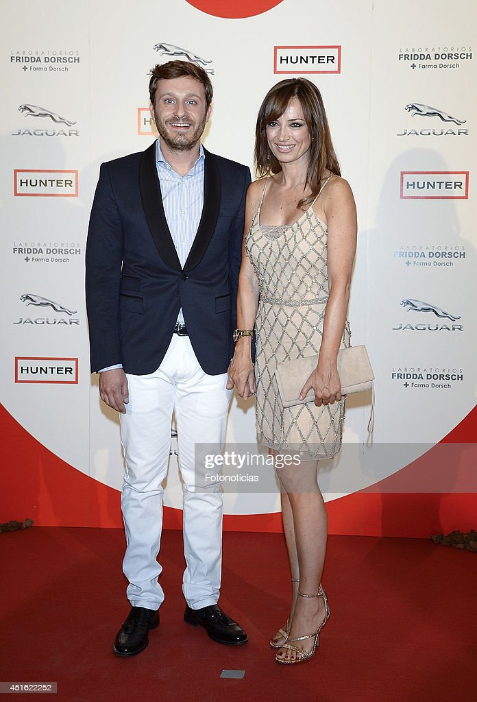 Juan Pena and Sonia Gonzalez attend the 'Corazon Solidario' 2014 awards ceremony at Miguel Angel Hotel on July 2, 2014 in Madrid, Spain