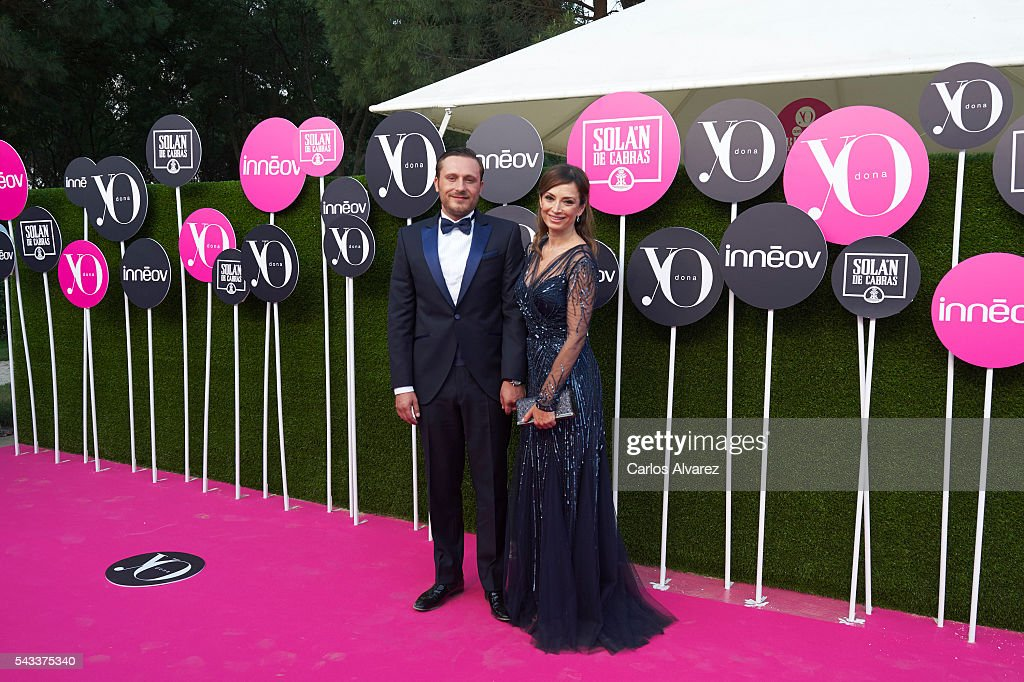 Juan Pena and Sonia Gonzalez attend 'Yo Dona' International awards on June 27, 2016 in Madrid, Spain.