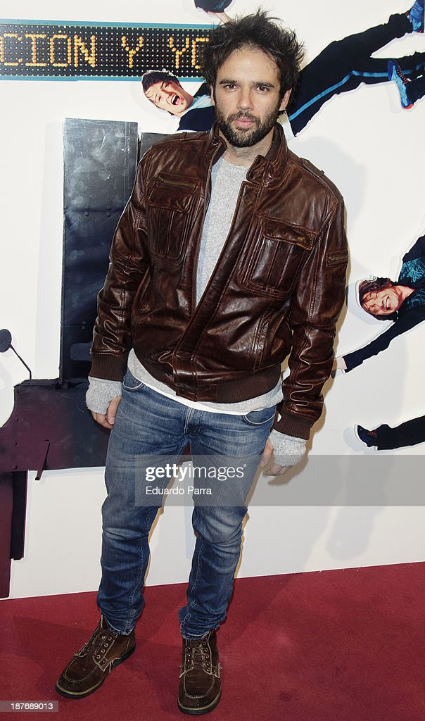 Juan Pena attends Alex O'Dogherty new album presentation party photocall at La Latina theatre on November 11, 2013 in Madrid, Spain.