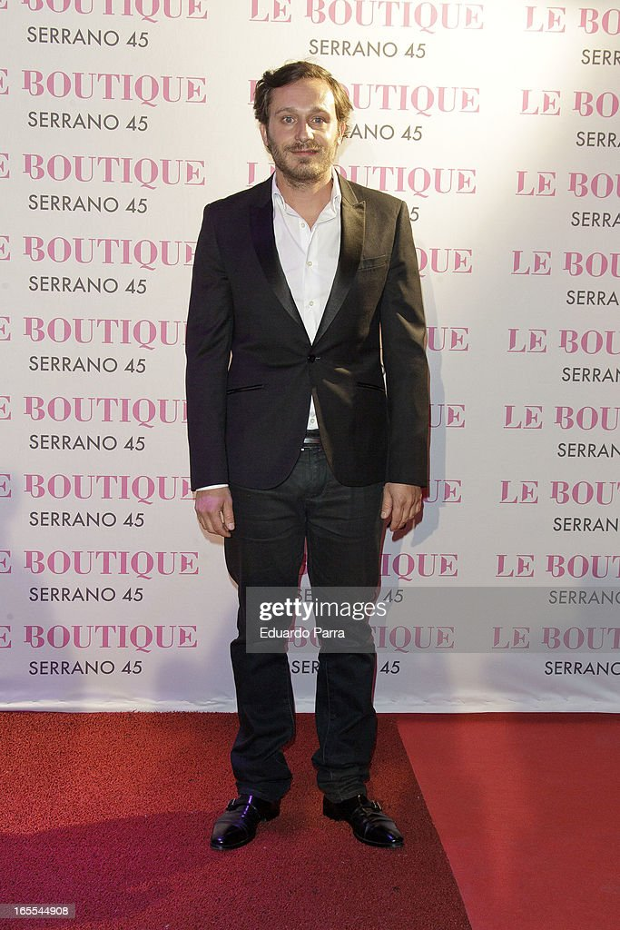 Juan Pena attends the photocall for the birthday party of Norma Duval at Le Boutique on April 4, 2013 in Madrid, Spain.