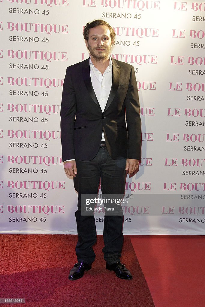 Juan Pena attends the photocall for the birthday party of Norma Duval at Le Boutique disco on April 4, 2013 in Madrid, Spain.