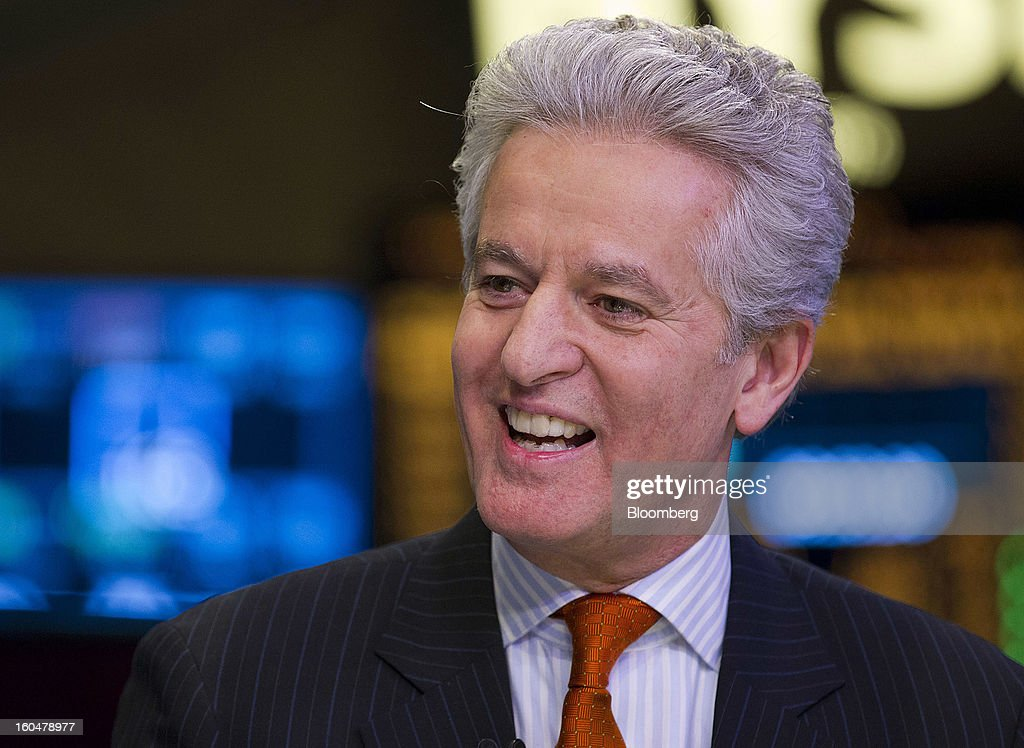Juan Ramon Alaix, chief executive officer of Zoetis Inc., speaks during an interview on the floor of the New York Stock Exchange (NYSE) in New York, U.S., on Friday, Feb. 1, 2013. Zoetis Inc., the animal-health company owned by Pfizer Inc., surged as much as 22 percent in its debut after raising $2.24 billion in its initial public offering, pricing the shares above the proposed price range. Photographer: Jin Lee/Bloomberg via Getty Images