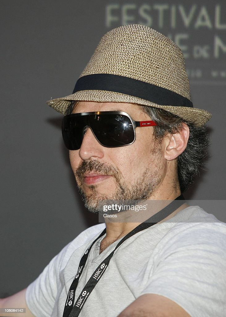 Juan Rios of the movie La Otra Familia, during a press conference as part of the 8th Morelia International Film Festival on October 23, 2010 in Morelia, Mexico.