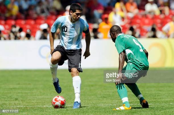 Juan Roman RIQUELME Argentine / Nigeria Finale Football Jeux Olympiques 2008 Pekin