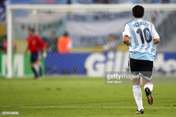 Juan Roman RIQUELME Argentine / Mexique 1/8 finale Coupe du Monde 2006 Leipzig Allemagne