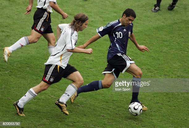 Juan Roman RIQUELME Allemagne / Argentine 1/4 Finale Coupe du Monde 2006