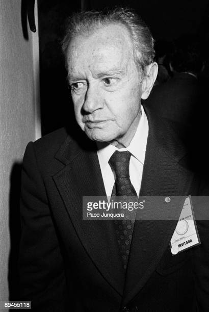 Juan Rulfo writer The Mexican writer on ocasion of the dialogues 'Iberoamerica Meetings in Democracy'