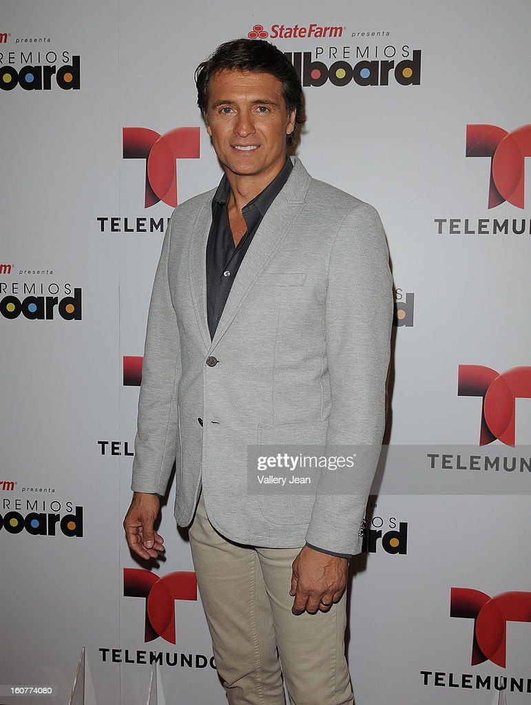 <a gi-track='captionPersonalityLinkClicked' href=/galleries/search?phrase=Juan+Soler+-+Actor&family=editorial&specificpeople=12766801 ng-click='$event.stopPropagation()'>Juan Soler</a> attends Telemundo and Premios Billboard 2013 Press Conference at Gibson Miami Showroom on February 5, 2013 in Miami, Florida.