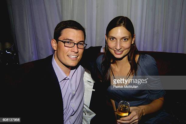 Juan Young and Arial Cochvasker attend STEVENSON GREEN ROOF Soiree at 230 Fifth Ave 20th Floor on April 25 2007 in New York City