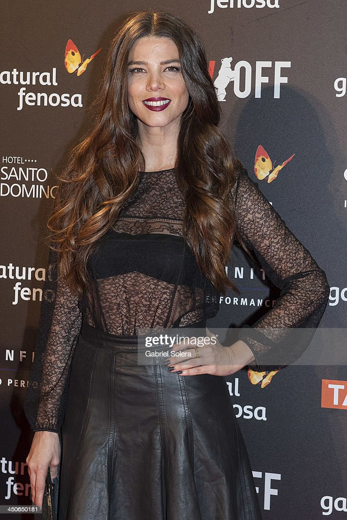 Juana Acosta attends '10.000 Noches en Ninguna Parte' Madrid Premiere at Callao cinema on November 19, 2013 in Madrid, Spain.