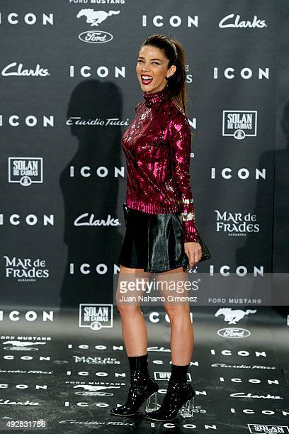 Juana Acosta attends fashion 'ICON Awards Men of the Year' at Casa Velazquez on October 15 2015 in Madrid Spain