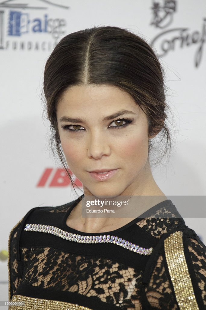 Juana Acosta attends Jose Maria Forque awards photocall at Canal theatre on January 22, 2013 in Madrid, Spain.