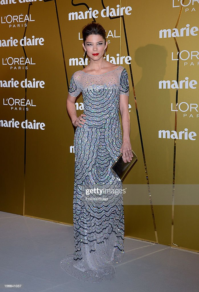 Juana Acosta attends 'Marie Claire Prix de la Mode 2012' ceremony at the French Ambassadors Residence on November 22, 2012 in Madrid, Spain.