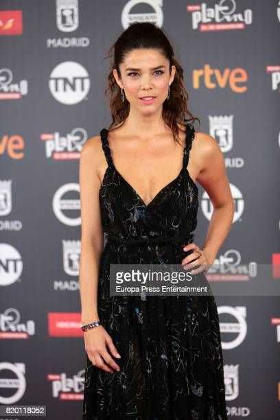 Juana Acosta attends Platino Awards 2017 press conference on July 21 2017 in Madrid Spain