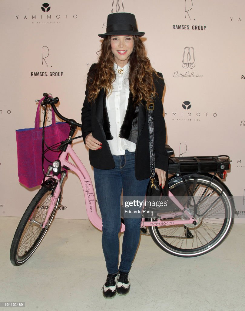 Juana Acosta attends ^retty Ballerinas photocall party at Ramses bar on March 20, 2013 in Madrid, Spain.