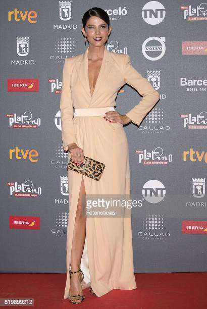 Juana Acosta attends the 2017 Platino Awards Welcome Party at Callao Cinema on July 20 2017 in Madrid Spain
