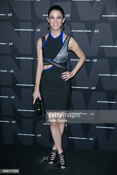 Juana Acosta attends the Alexander Wang X HM Party at 'But' Club on November 5 2014 in Madrid Spain