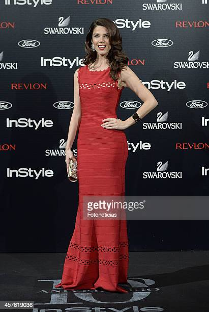 Juana Acosta attends the InStyle Magazine 10th anniversary party at Gran Melia Fenix Hotel on October 21 2014 in Madrid Spain