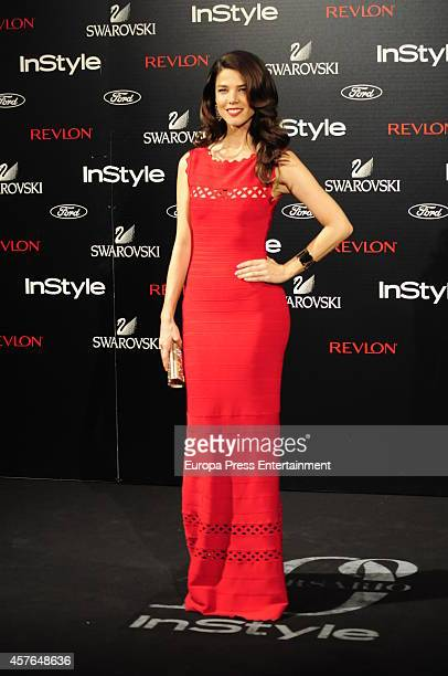 Juana Acosta attends the InStyle Magazine 10th anniversary party on October 21 2014 in Madrid Spain