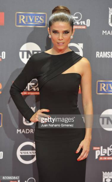 Juana Acosta attends the 'Platino Awards 2017' photocall at La Caja Magica on July 22 2017 in Madrid Spain