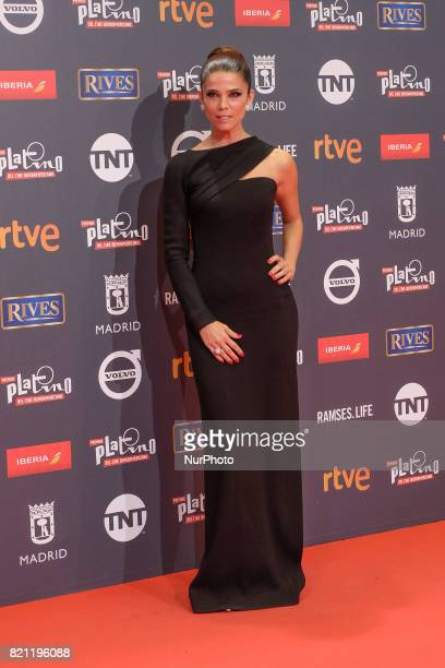 Juana Acosta attends the Platino Awards 2017 photocall at the La Caja Magica on July 22 2017 in Madrid Spain