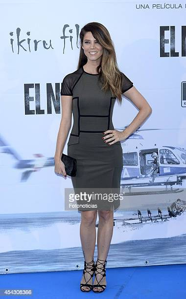 Juana Acosta attends the premiere of 'El Nino' at Kinepolis Cinema on August 28 2014 in Madrid Spain