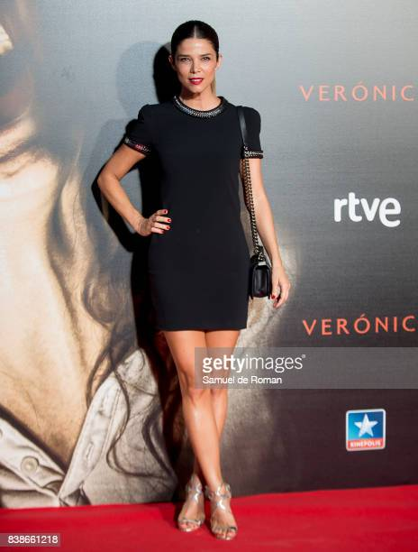 Juana Acosta attends the 'Veronica' Madrid Premiere on August 24 2017 in Madrid Spain