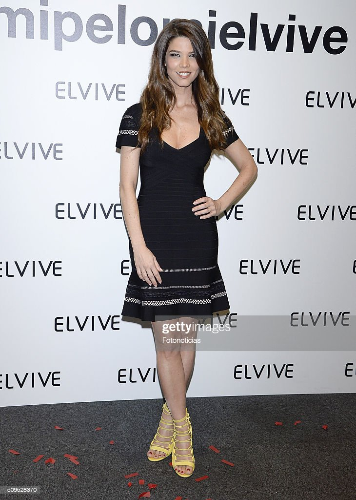 <a gi-track='captionPersonalityLinkClicked' href=/galleries/search?phrase=Juana+Acosta&family=editorial&specificpeople=2132138 ng-click='$event.stopPropagation()'>Juana Acosta</a> is presented as a new Elvive Ambassador at the ME Reina Victoria Hotel on February 11, 2016 in Madrid, Spain.