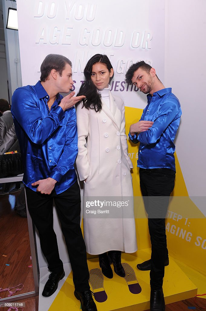 Juana Burga attends Kiehl's Zoolander Center Opening on February 9, 2016 in New York City.