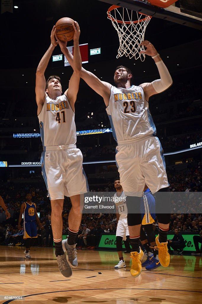 Golden State Warriors v Denver Nuggets