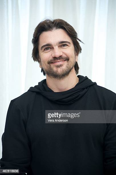 Juanes attends Roundtable Interview With Juanes at The Beverly Hilton Hotel on February 5 2015 in Beverly Hills California