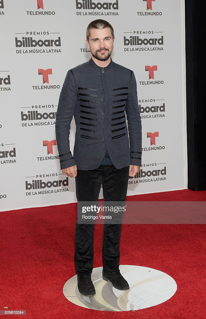 Juanes attends the Billboard Latin Music Awards at Bank United Center on April 28, 2016 in Miami, Florida.