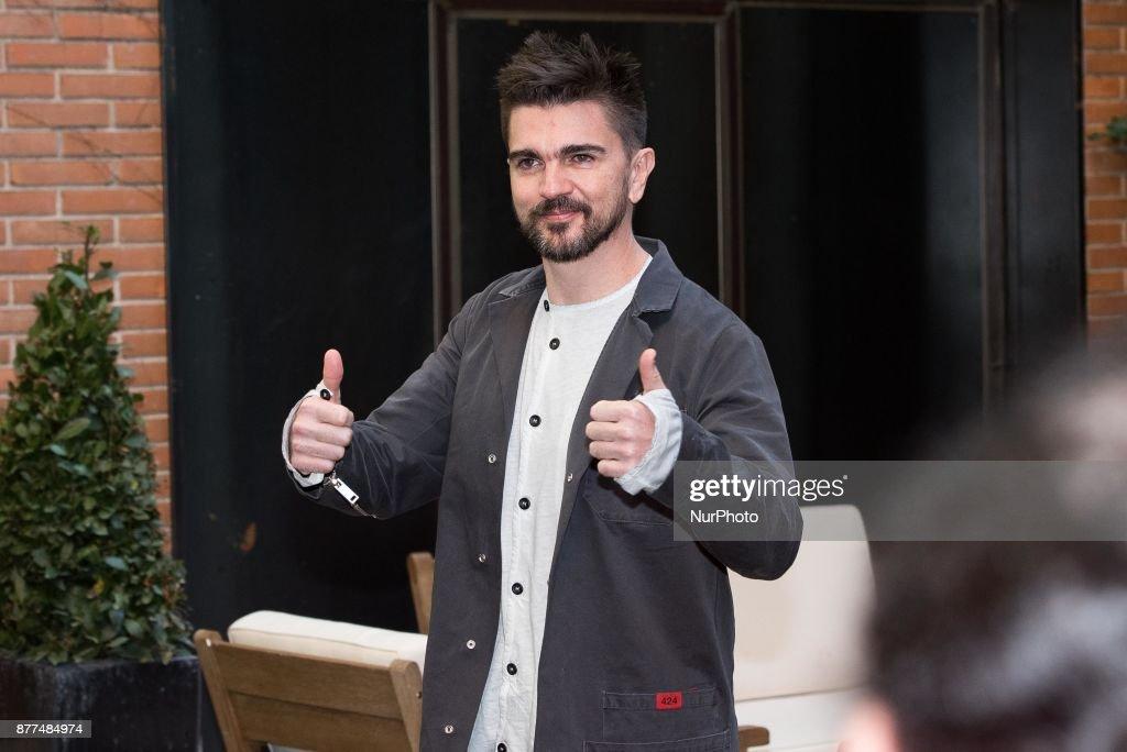 Juanes Madrid Concert Presentation