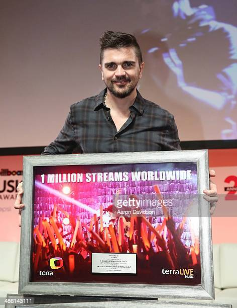 Juanes participates in 25th Annual Billboard Latin Music Conference QA at JW Marriott Marquis on April 22 2014 in Miami Florida