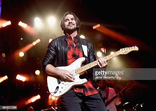 Juanes performs onstage at The Theater at Madison Square Garden on August 19 2015 in New York City