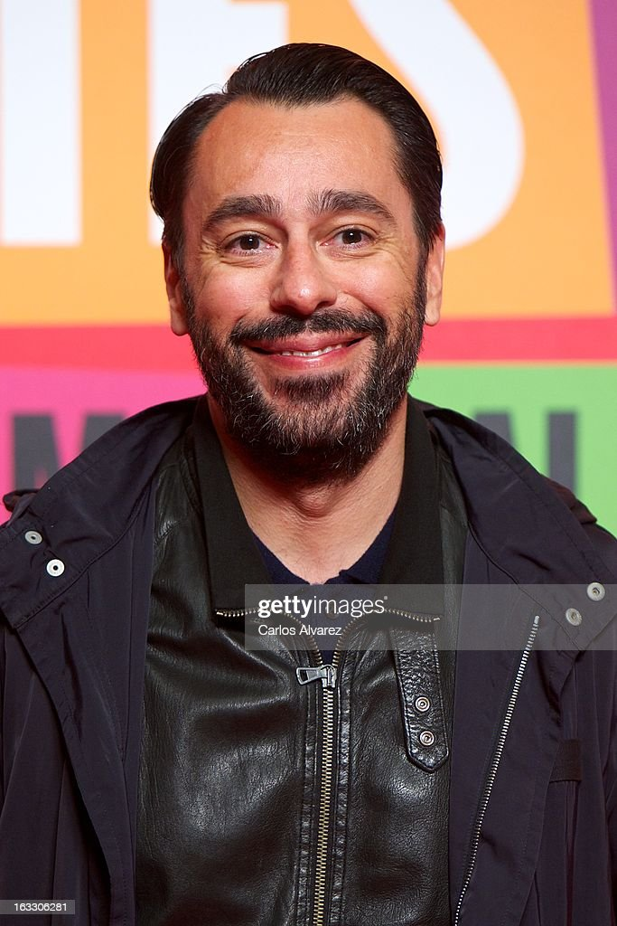 Juanjo Oliva attends 'Los Amantes Pasajeros' premiere party at Casino de Madrid on March 7, 2013 in Madrid, Spain.