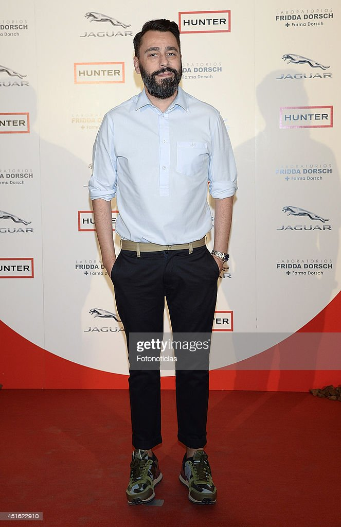 Juanjo Oliva attends the 'Corazon Solidario' 2014 awards ceremony at Miguel Angel Hotel on July 2, 2014 in Madrid, Spain