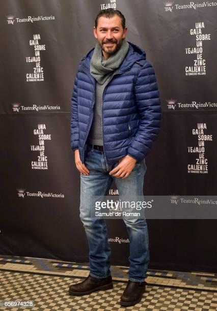 Juanjo Pardo attends 'Una Gata Sobre Un Tejado de Zinc Caliente' Madrid Premiere on March 23 2017 in Madrid Spain