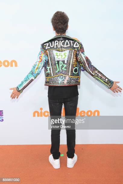 Juanpa Zurita attends the Nickelodeon Kids' Choice Awards Mexico 2017 at Auditorio Nacional on August 19 2017 in Mexico City Mexico