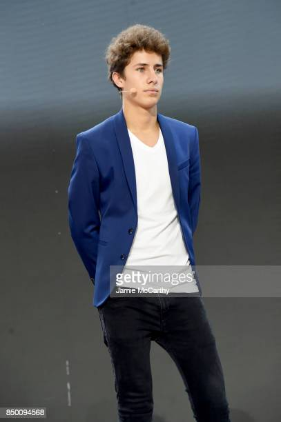 Juanpa Zurita speaks speaks at Goalkeepers 2017 at Jazz at Lincoln Center on September 20 2017 in New York City Goalkeepers is organized by the Bill...