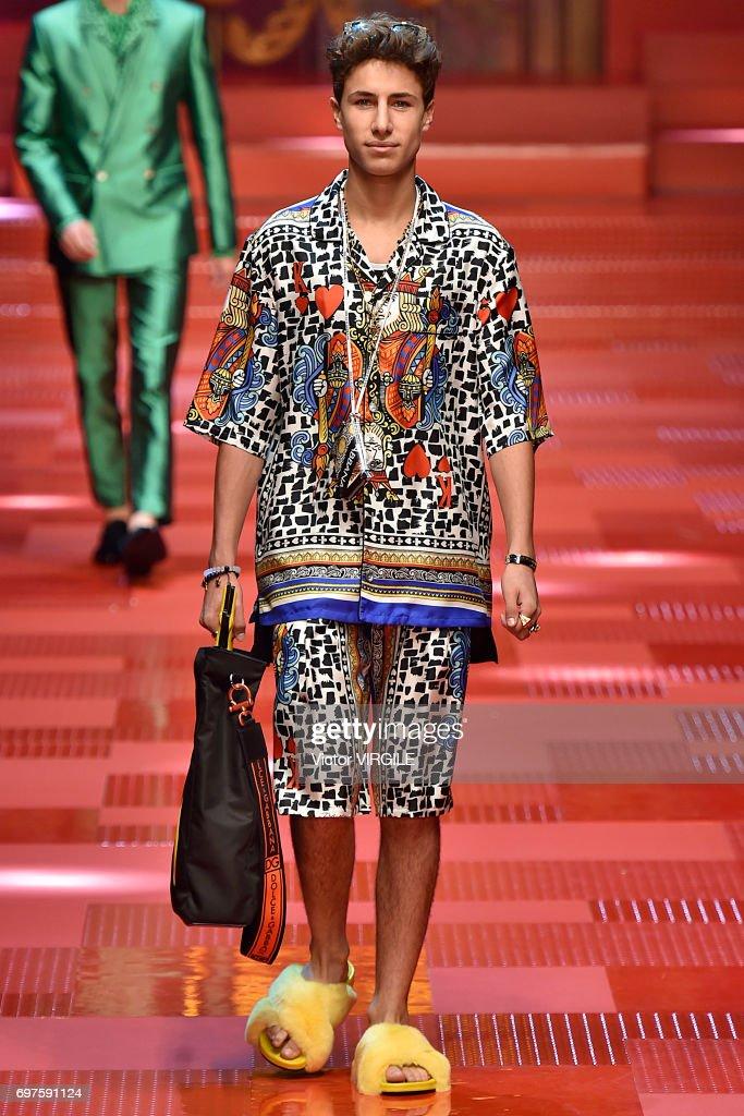 Dolce & Gabbana - Runway - Milan Men's Fashion Week Spring/Summer 2018